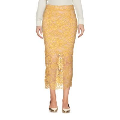 アニヤバイ ANIYE BY 7分丈スカート オークル S ナイロン 60% / レーヨン 40% 7分丈スカート