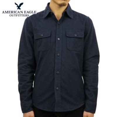アメリカンイーグル シャツ メンズ 正規品 AMERICAN EAGLE 長袖シャツ ネルシャツ  AEO Plaid Flannel Shirt 0513-8824