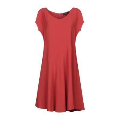 ANTONELLI ミニワンピース&ドレス レンガ 40 レーヨン 70% / アセテート 26% / ポリウレタン 4% ミニワンピース&ドレス