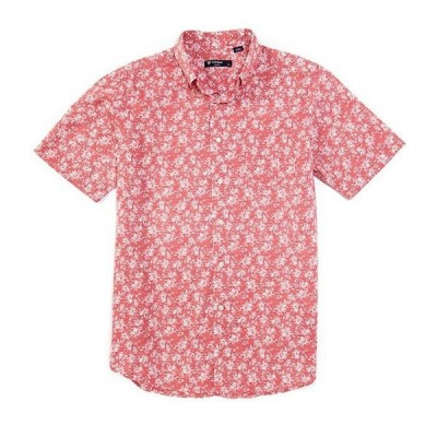 ダニエル クレミュ メンズ シャツ トップス Floral Print Short-Sleeve Woven Shirt