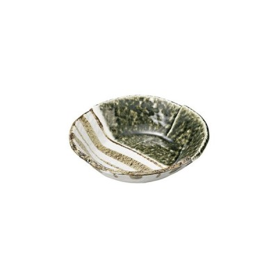 織部ストライプ 6.5丸鉢 ロ463-027