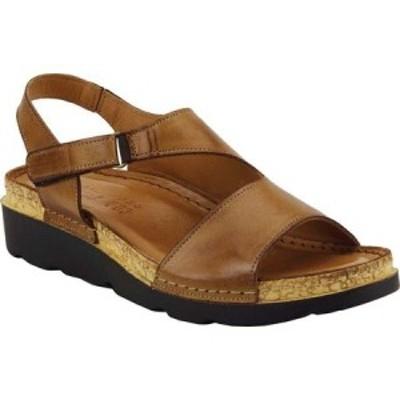 スプリングステップ Spring Step レディース サンダル・ミュール ウェッジソール シューズ・靴 Khulassi Wedge Sandal Brown Leather