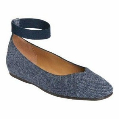 Aerosoles エアロソールス シューズ シューズ/サンダル Aerosoles Womens  Spearmint Ankle Strap Ballet Flat