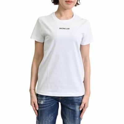 モンクレール スモールロゴ Tシャツ MONCLER 8C7A6 10 829FB 001 ホワイト