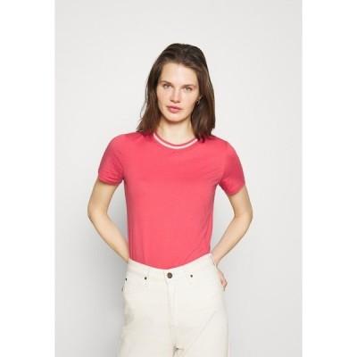 イー ディ シー バイ エスプリ Tシャツ レディース トップス Basic T-shirt - pink