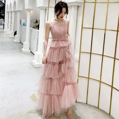 パーティードレス  ロング イブニングドレス 20代 30代 きれいめ  上品 ロングドレス  おしゃれ 着痩せ 花嫁 発表会 卒業会 結婚式フォーマルドレス
