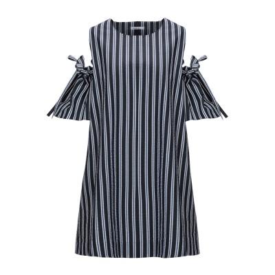 パロッシュ P.A.R.O.S.H. ミニワンピース&ドレス ブルー XS コットン 55% / ポリエステル 45% ミニワンピース&ドレス