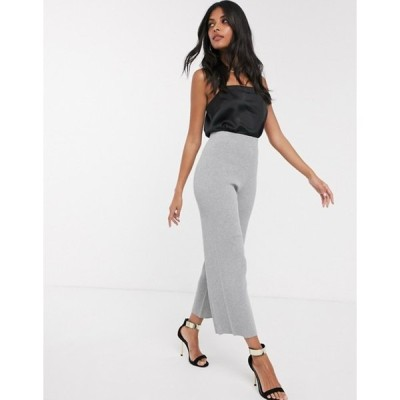 ファッションモンキー レディース カジュアルパンツ ボトムス Fashion Union knitted wide leg pants