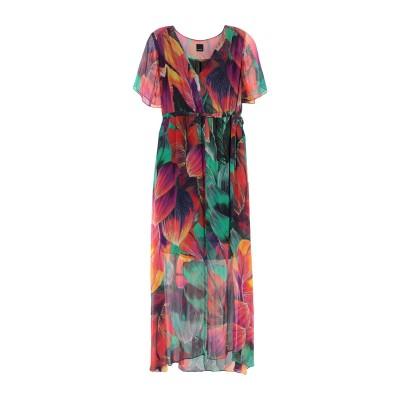 ピンコ PINKO ロングワンピース&ドレス グリーン 44 レーヨン 100% ロングワンピース&ドレス