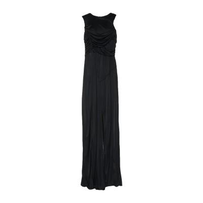 アンナリータ エンネ ANNARITA N ロングワンピース&ドレス ブラック 42 レーヨン ロングワンピース&ドレス