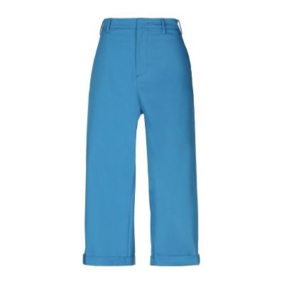 ヌメロ ヴェントゥーノ N°21 パンツ アジュールブルー 44 97% コットン 3% ポリウレタン パンツ