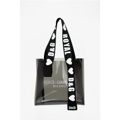 DOLCE&GABBANA/ドルチェ&ガッバーナ Black レディース PVC Tote Bag dk