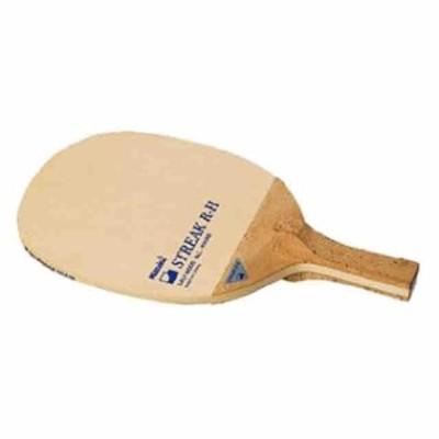 ニッタク 卓球 ラケット ペン 日本式角丸型 合板 ストリーク R-H 反転式オールラウンド用  Nittaku NE-6676