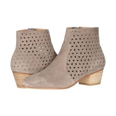 Soludos ソルドス レディース 女性用 シューズ 靴 ブーツ アンクルブーツ ショート Lola Perforated Bootie - Mineral Grey