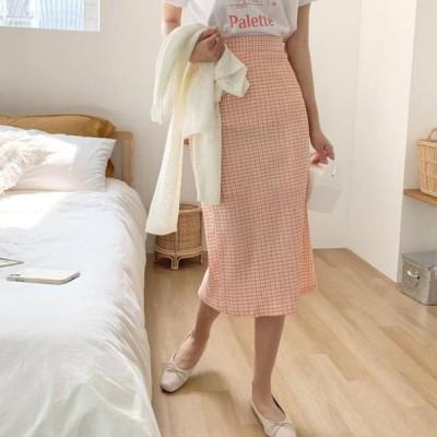cherryville レディース スカート Faintly Loved Check Skirt