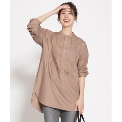 nano・universe / WEB限定/ピンタックドレスシャツ 長袖 WOMEN トップス > シャツ/ブラウス