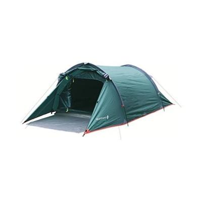 Highlander Outdoor Blackthorn 2 Tent, Hunter Green【並行輸入品】