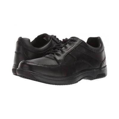 Dunham ダナム メンズ 男性用 シューズ 靴 オックスフォード 紳士靴 通勤靴 Midland Service - Black