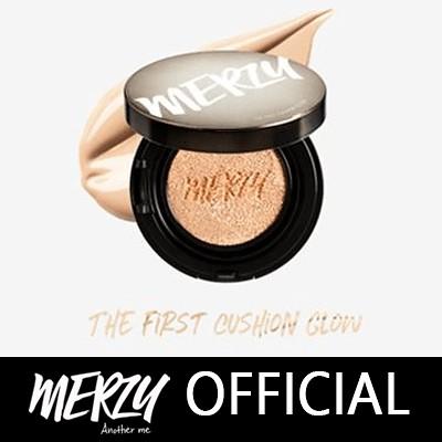 【MERZY】『単品』❤しっとり💦ツヤ肌✨❤カバー+持続力抜群 / ザ·ファースト·クッション·グロー /韓国コスメ/コスパ最高👀/GLOW CUSHION