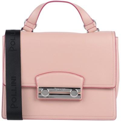 ポリーニ POLLINI ハンドバッグ ピンク ポリクロライド(ポリ塩化物) ハンドバッグ