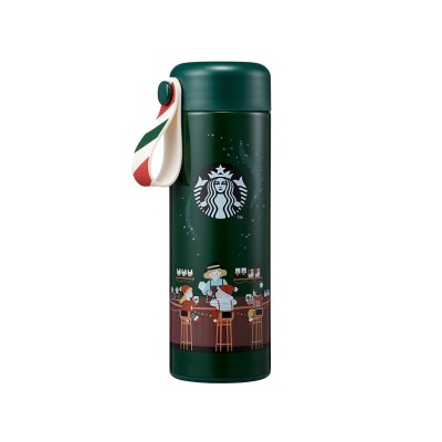 スターバックスコリア Starbucks Korea 2020クリスマス限定クリスマスSSストラップタンブラー355ml+追跡番号
