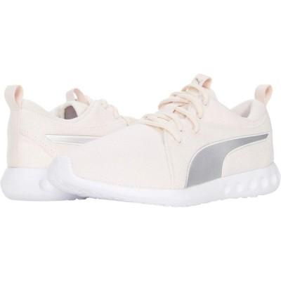 プーマ PUMA レディース スニーカー シューズ・靴 Carson 2 Knit NM Rosewater/Puma Silver/Puma White