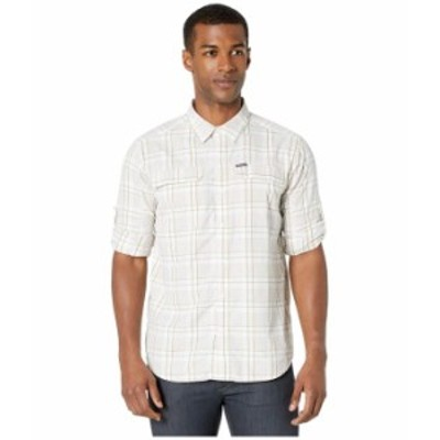 コロンビア メンズ シャツ トップス Silver Ridge 2.0 Plaid Long Sleeve Shirt White Grid Plaid