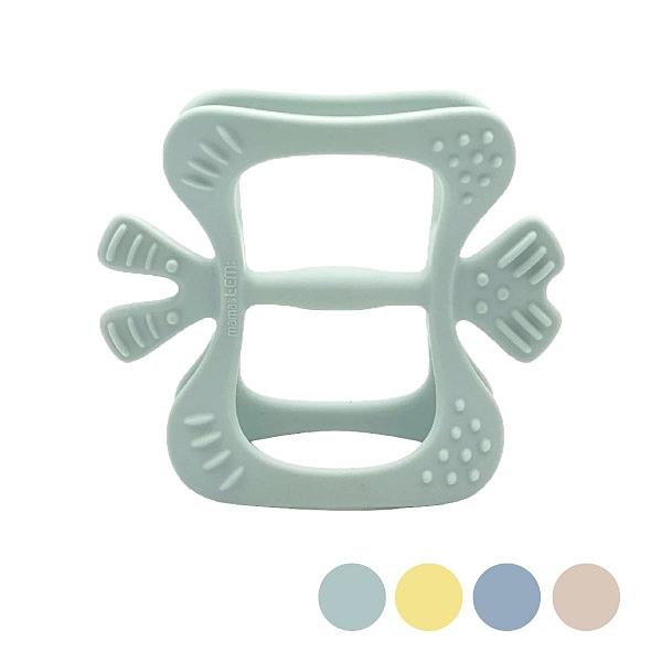 韓國 MAMA's TEM: 胖蝴蝶固齒器(4色可選)附收納盒