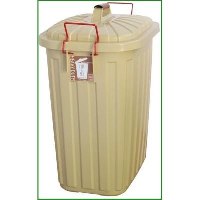 送料無料 SPICE PALE×PAIL ふた付きゴミ箱 エクリュベージュ 60L IWLY4010EB|b03