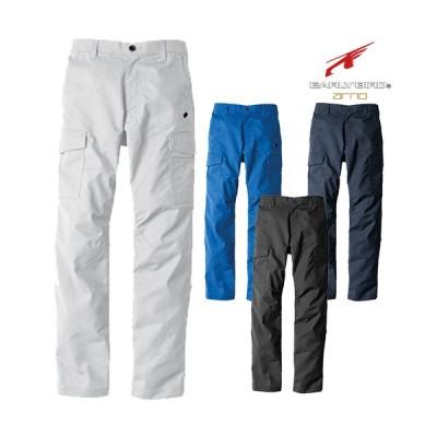 作業服 カーゴパンツ ビッグボーン ノータックカーゴパンツ EBA213 作業着 通年 秋冬