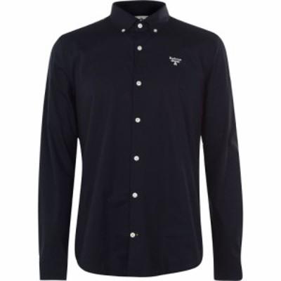 バブアー Barbour Beacon メンズ シャツ トップス Sleeve Shirt Navy NY