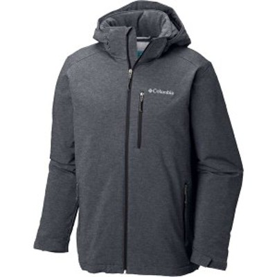 コロンビア メンズ ジャケット・ブルゾン アウター Columbia Men's Gate Racer Softshell Jacket (Regular and Big & Tall) Graphite Hea