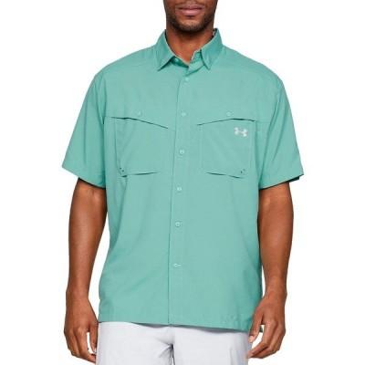 アンダーアーマー シャツ トップス メンズ Under Armour Men's Tide Chaser Short Sleeve Shirt AzureTeal