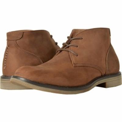 ナンブッシュ Nunn Bush メンズ ブーツ チャッカブーツ シューズ・靴 Lancaster Plain Toe Chukka Boot Brown Leather