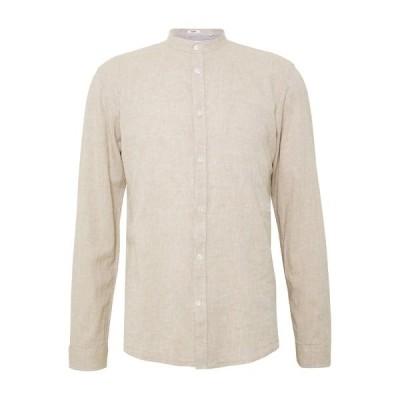 リンドーバーグ シャツ メンズ トップス Shirt - sand