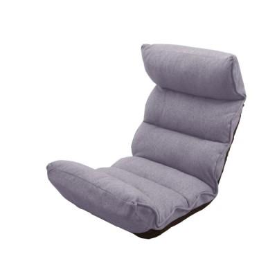 全集中 アドバン PCリラックス座椅子 / ハイバック おしゃれ 一人掛け「ブラウン/グレー/ネイビー」おしゃれ 安い コンパクト 一億円座椅子