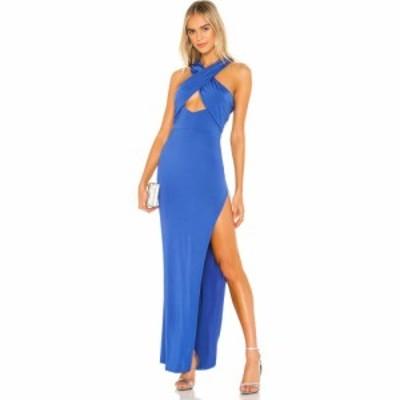 エヌビーディー NBD レディース パーティードレス ワンピース・ドレス Zooey Gown Cobalt Blue