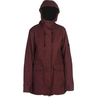 ライド Ride レディース ジャケット アウター capital insulated jacket Wine Melange