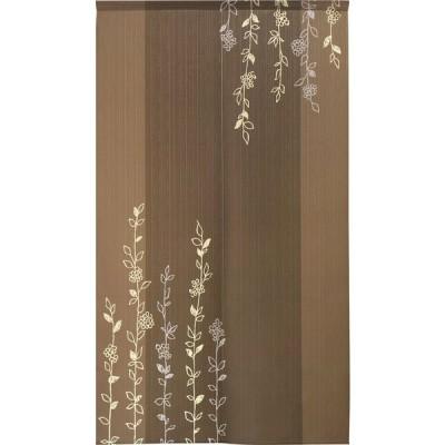 のれん 暖簾 洋風 モダンリーフ  85×150cm 日本製