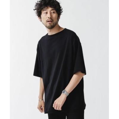 [久米繊維]×NUビッグボートネックTシャツ