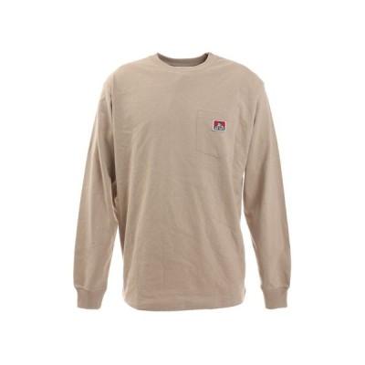 ベンデイビス(BEN DAVIS) ピスポケット ロングスリーブTシャツ 0780036-NTL (メンズ)