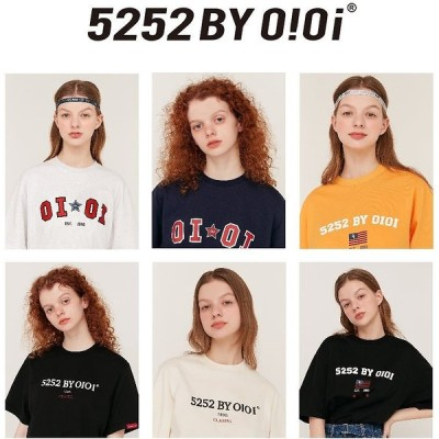 [5252 BY OIOI] 2020 新商品 HERITAGE LOGO/STAR CLUB T-SHIRTS 韓国人気商品