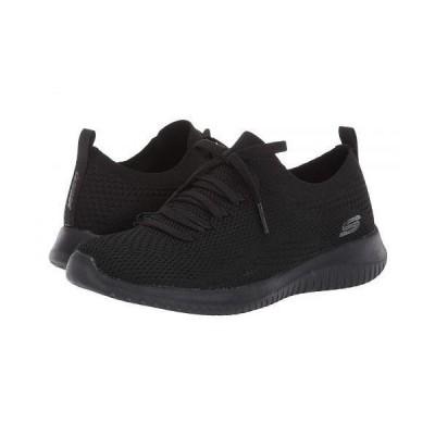 SKECHERS スケッチャーズ レディース 女性用 シューズ 靴 スニーカー 運動靴 Ultra Flex - Statements - Black