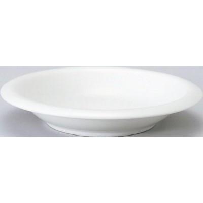 100個〜 オリジナル陶器 名入れ 20cm深皿_ホワイトハット (個箱は別途お見積)