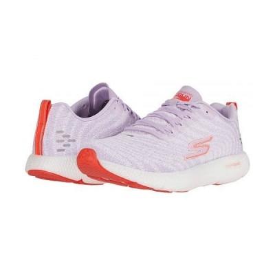 SKECHERS スケッチャーズ レディース 女性用 シューズ 靴 スニーカー 運動靴 Go Run 7+ - Lavender/Multi