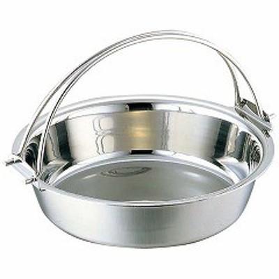 和田助製作所 WADASUKE SEISAKUSHO SW NBステンレス 電磁 つる付 ちり鍋 21cm 送料無料 キッチン用品