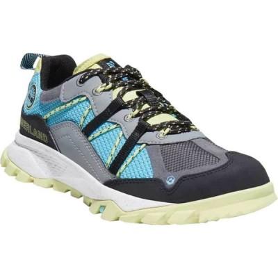 ティンバーランド Timberland レディース ハイキング・登山 ローカット スニーカー シューズ・靴 Garrison Trail Low Hiking Sneaker Turquoise/Aqua Synthetic