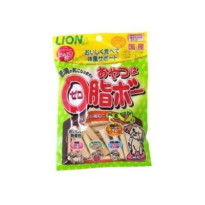 ライオン おやつは0脂ボー 野菜入り 80g (ドッグフード/犬用おやつ/犬のおやつ・犬のオヤツ・いぬのおやつ/ドックフード)(犬用品/ペット用品)