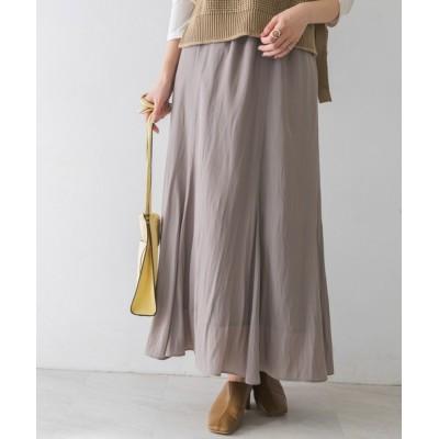 URBAN RESEARCH / ウエストゴム裾フレアスカート WOMEN スカート > スカート