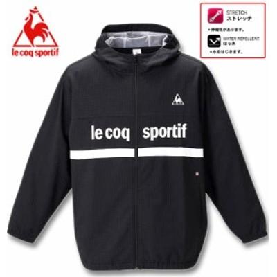 大きいサイズ LE COQ SPORTIF グリッドクロスジャケット ブラック 2L 3L 4L 5L 6L/1276-0332-2-128